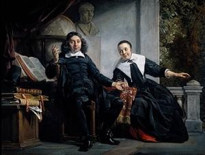 Jan de Bray: Abrahem Casteleyn and his Wife Margarieta van Bancken, 1663 (Rijksmuseum, Amsterdam)